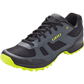 Giro Gauge Schoenen Heren, dark shadow/citron